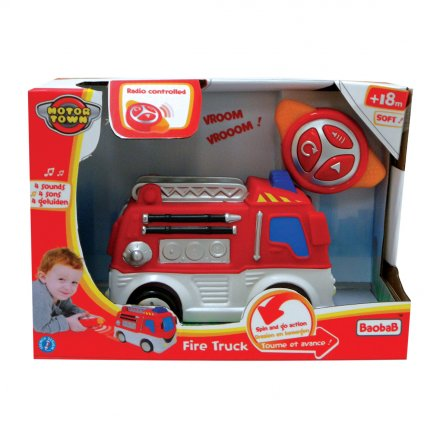 Motortown RC Soft Fire Truck