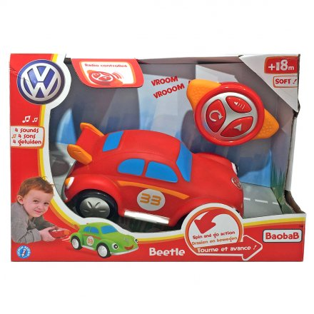 Motortown RC Soft Red VW Beetle