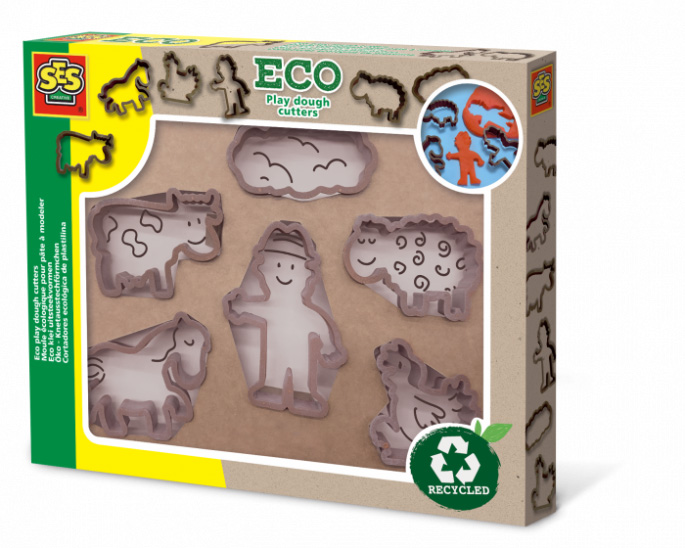 Eco play dough former