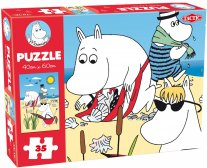 Moomin 35 Pieces Puzzle - Beach