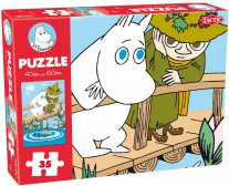 Moomin 35 Pieces Puzzle - Bridge