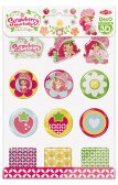 Deco Stickers 3D: Strawberry Shortcake