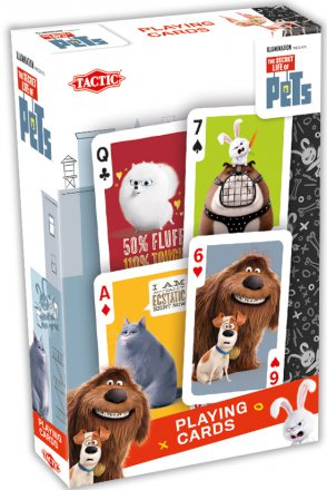Secret Life of Pets Playing Cards