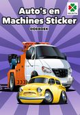 Auto's en Machines Sticker Doeboek