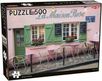 Parisian Cafe puzzle 500 pcs