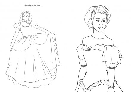 Lovely Princesses Coloring Book (NO)