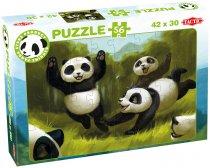 Panda Stars palapeli, 56 palaa, 3 kuvavaihtoehtoa