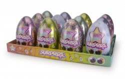 Lumo Stars Collectible Surprise Egg assortment - 12,5 cm -  12 stuks - Display