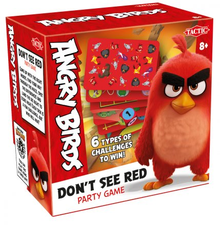Angry Birds, Dont See RED