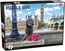 Dog in London puzzle 500 pcs