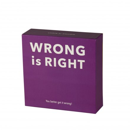 Wrong is Right?