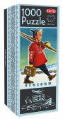 Come to Finland puzzle: The Ski Boy
