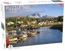Puzzel Around the World, Northern Stars: Narvik Harbor - 500 stukjes