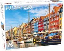 Puzzel Around the World, Nothern Stars: Nyhavn - 1000 stukjes