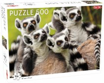 Puzzel Animals: Lemurs - 500 pieces