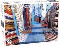 Puzzel Around the World: Chefchouen, Morocco - 1000 pieces