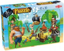Piraten Puzzel Treasure Island - 56 Stukjes