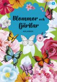 Flowers and Butterflies Coloring Book