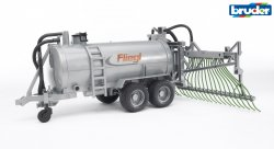Fliegl barrel trailer with spread tubes