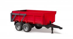 Tipping trailer (red)