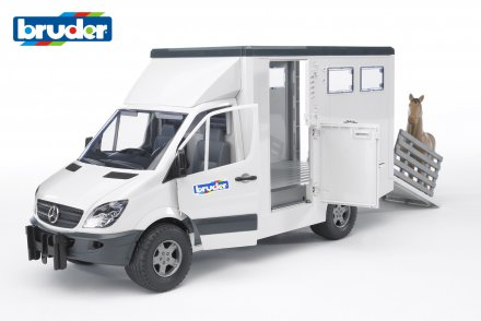 MB Sprinter animal transporter incl. 1 horse