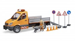 MB Sprinter municipal with Light & Sound Module, worker and accessories