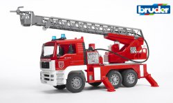 MAN TGA Fire engine with water pump w.Light & Sound Module