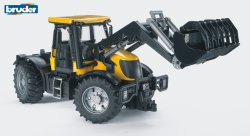 JCB Fastrac 3220 traktori etukuormaajalla