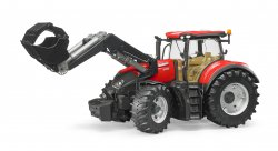 Case IH Optum 300 CVX traktori etuhaarukalla