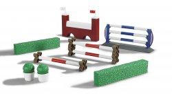 Accessories: Show-jumping obstacles