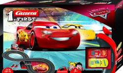 Carrera First Disney Pixar Cars 3