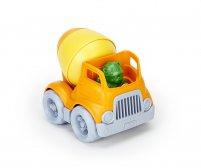 Sementtiauto + kuljettaja