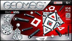 Geomag Panels Black&White 104 pcs