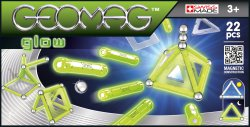Geomag Panels Glow 22 delig
