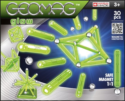 Geomag Color Glow 30 delig