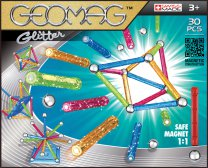 Geomag Color Glitter 30 pcs