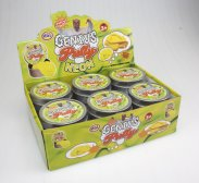 Genius putty Neon color 12 pcs display