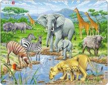 Larsen Afrikkalainen savanni (Maxi) 65 palaa
