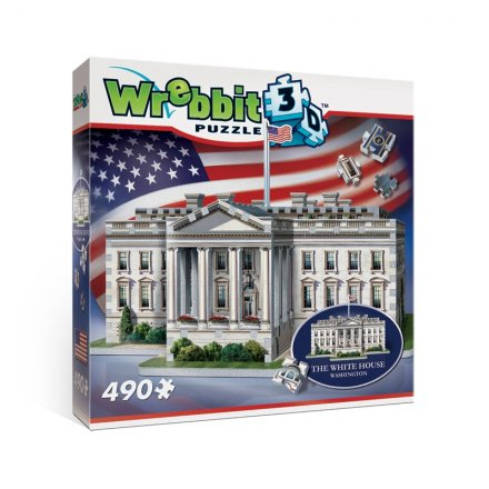 Wrebbit 3D The White House palapeli, 490 palaa