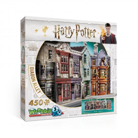 Wrebbit 3D Harry Potter Diagon Alley (450 palaa)